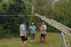 Mounting-antenna